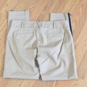 Anthropologie Pants - Cartonnier Charlie Ankle pant 4 chino leg zipper